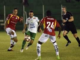 Oriente Petrolero y Deportivo Cuenca firmaron tablas. Conmebol