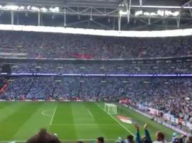 El Coventry se proclamó campeón. Twitter/MiguelMosquera