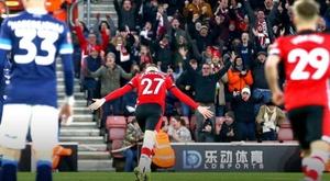 El Southampton venció al Huddersfield con comodidad. Twitter/SouthamptonFC