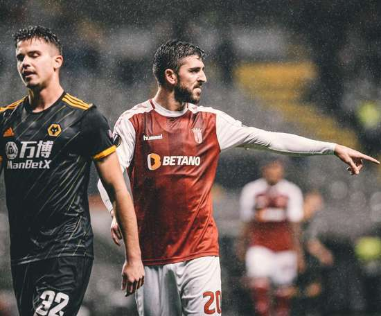Empate a tres entre Sporting de Braga y Wolves. Twitter/SCBragaOficial