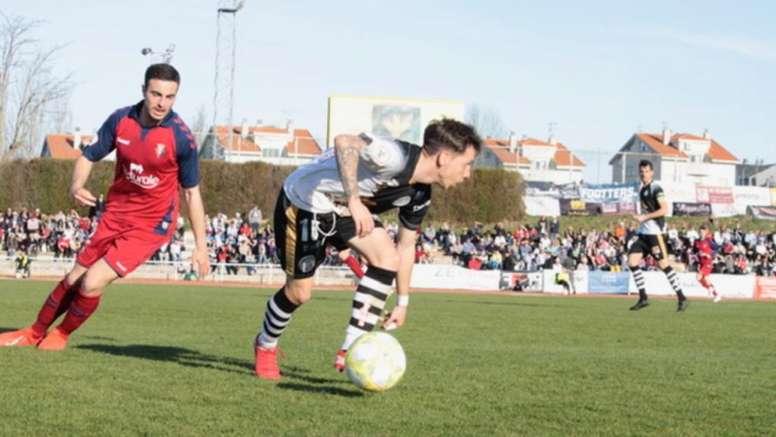 El Unionistas de Salamanca goleó a Osasuna B en casa. Twitter/UnionistasCF