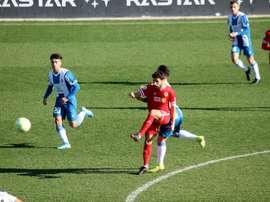 El Espanyol B ganó en casa. Twitter/cfhercules