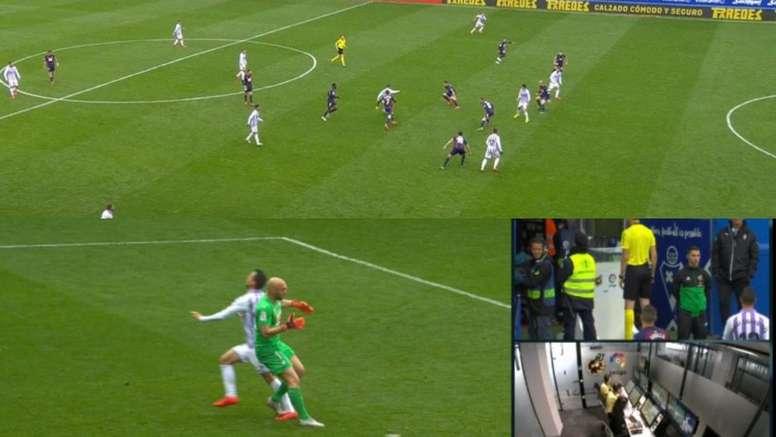 Un gol con mucha polémica. Captura/beINSports