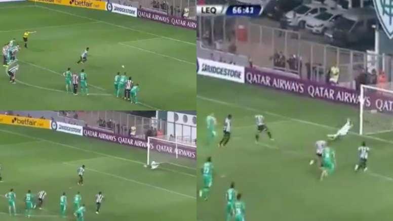 Locura en Brasil: VAR, penalti y gol anulado... ¡en un minuto! Captura/DAZN