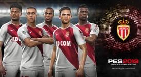 Les joueurs de Monaco sur PES 2019. PES2019
