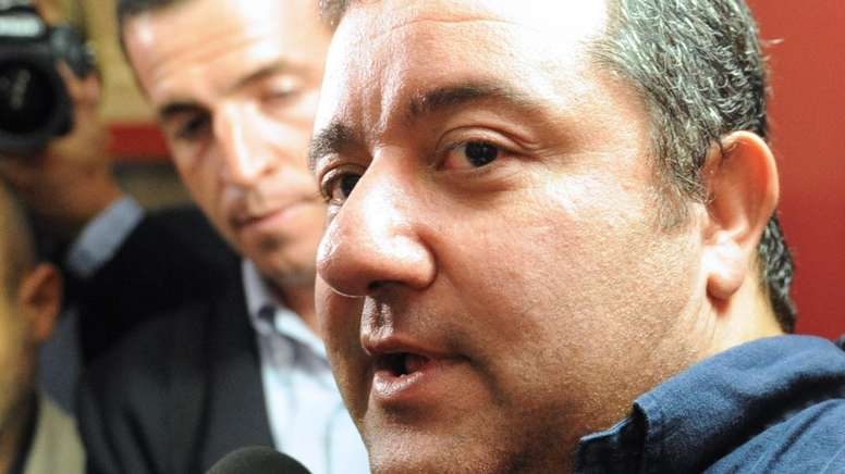 Mino Raiola represents some of the biggest players in the sport. AFP