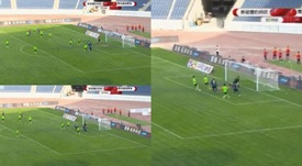 Yaya Touré marcó su primer gol en China. Captura/CSLFutbol