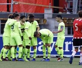 El Barcelona, uno de los mejores líderes. FCBMasia
