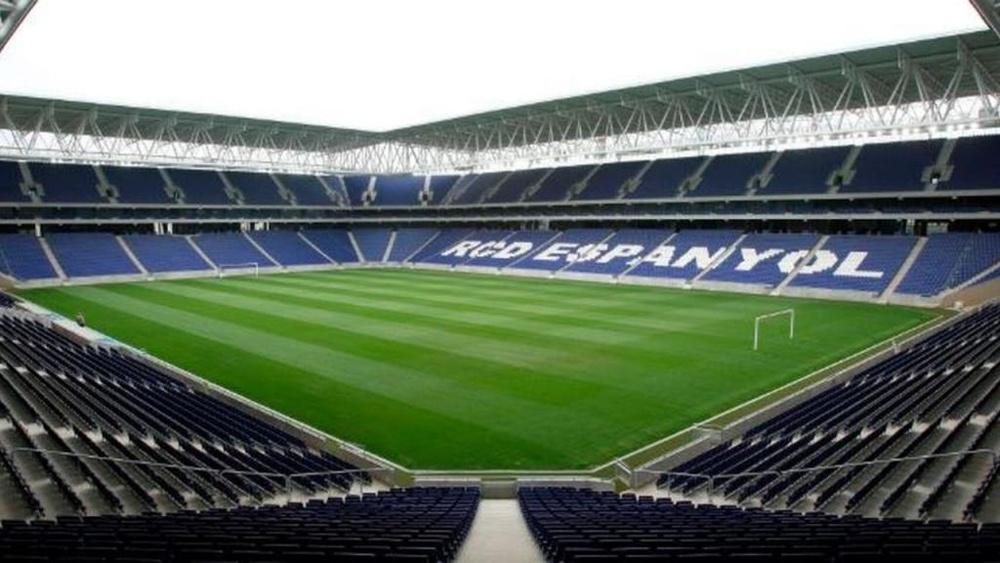 El Bayern se entrenó en el RCDE Stadium. EFE