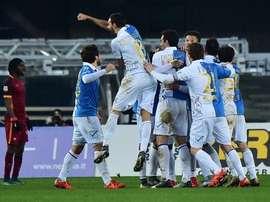 Imagen del Roma-Chievo. Twitter