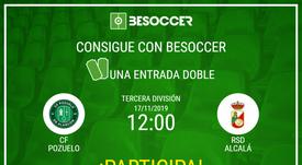 Consigue una entrada doble para el Pozuelo-RSD Alcalá. BeSoccer