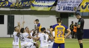 Guaraní se llevó el triunfo por 0-2. Twitter/ClubGuarani