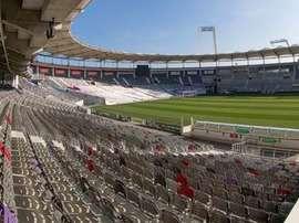Image du Stade Municipal de Toulouse. TFC