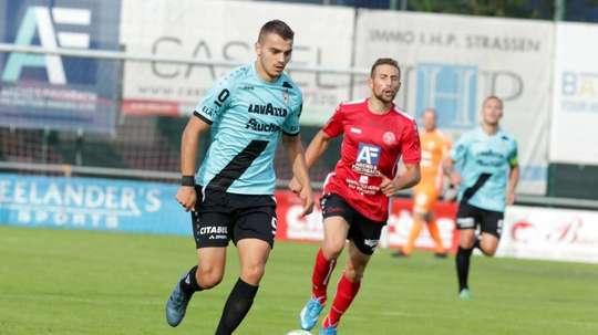 El Dudelange le ganó por 4-1 al Progres Niedercorn. F91Diddeleng