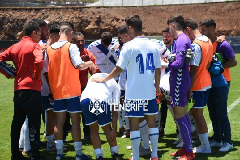 El Tenerife B venció al Linares Deportivo. Twitter/CDTOficial