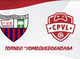 Imagen del torneo #Yomequedoencasa del Extremadura. ExtremaduraUD