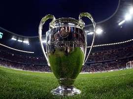 Image du trophée de la Ligue des champions. EFE