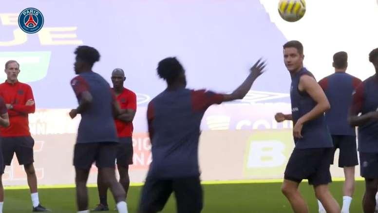VÍDEO: la puesta a punto de Neymar y cía para la Copa de la Liga. DUGOUT
