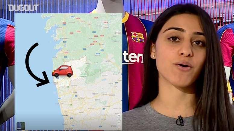 ¡El Barça equivocó los habitantes del pueblo natal de Trincao! DUGOUT