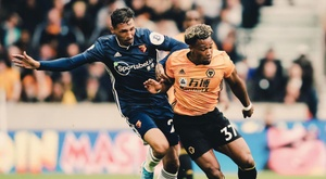 Wolves vence o Watford. Twitter/Wolves