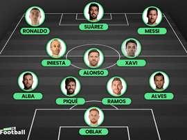 Ecco il miglior XI del decennio in Liga. BeSoccer