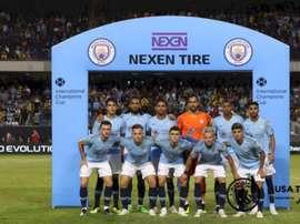 Eric García fue titular con el City. ManchesterCity
