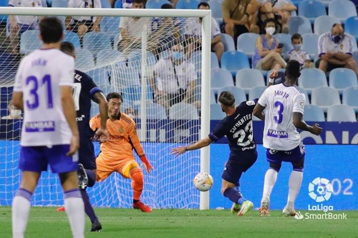 Cuatro incorporaciones del Zaragoza debutaron ante el Ibiza. LaLiga
