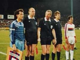 El  Zeljeznicar se midió al Videoton en las semifinales de 1985. Zeljeznicar