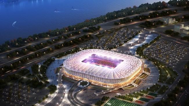 El Rostov Arena ya es una realidad. FIFA/LOC