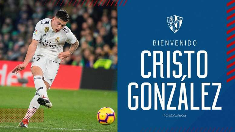 Cristo González llega cedido por el Udinese. SDHuesca