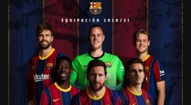 El Barça cuenta con Messi y con Piqué. FCBarcelona