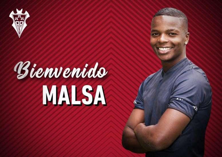 Malsa, nuevo fichaje del Albacete. Twitter/AlbaceteBPSAD