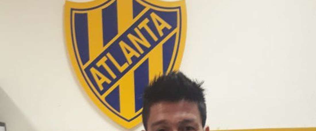 Caneo ya está en Atlanta. Twitter/atlantaoficial