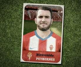 Mathieu Peybernes fichó por el Sporting de Gijón. Twitter/RealSporting