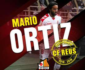 Mario Ortiz jugó en Cultural Leonesa las últimas dos temporadas. Twitter/cfreusdeportiu