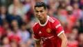 Cristiano motivó a la plantilla tras la derrota ante el Aston Villa. AFP