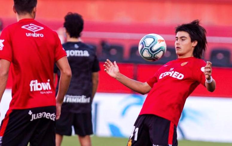 Luka Romero tiene tiempo para decidir con qué país quiere jugar. EFE/Archivo