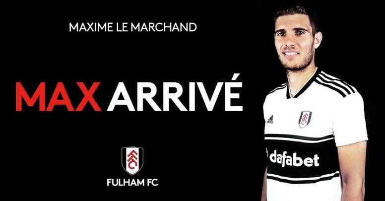 El lateral llega procedente del Niza. Twitter/FulhamFC