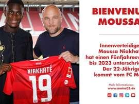 Le club allemand a officialisé l'arrivée de deux nouveaux joueurs ce samedi. Twitter/1FSVMainz05