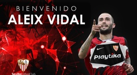 Vidal has returned to his former side. SevillaFC