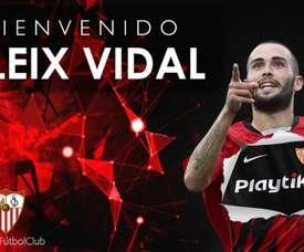 Vidal has returned to his former side. SevillaFC