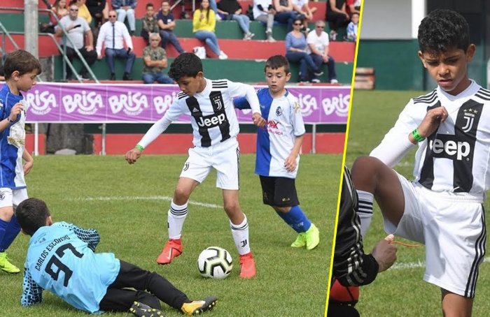 Cristiano Ronaldo Jr, star like his dad - BeSoccer
