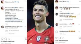 Las hermanas de CR7 mandaron un recado a sus críticos. Instagram/katiaaveirooficial