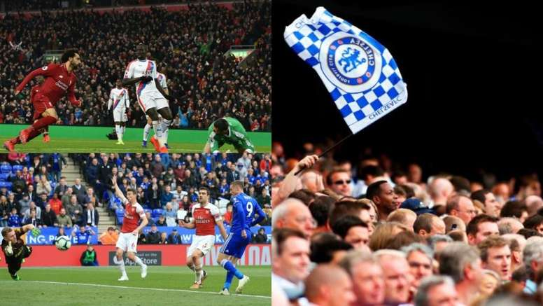 La afición del Crystal Palace lidera este curioso ranking. EFE