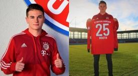 Taylor Booth es el nuevo proyecto de crack del Bayern. FCBayern