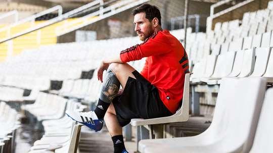 Messi est le meilleur buteur du Gamper. Adidas