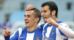 Former Real Sociedad teammate spoke of Griezmann's time in Real Sociedad. EFE