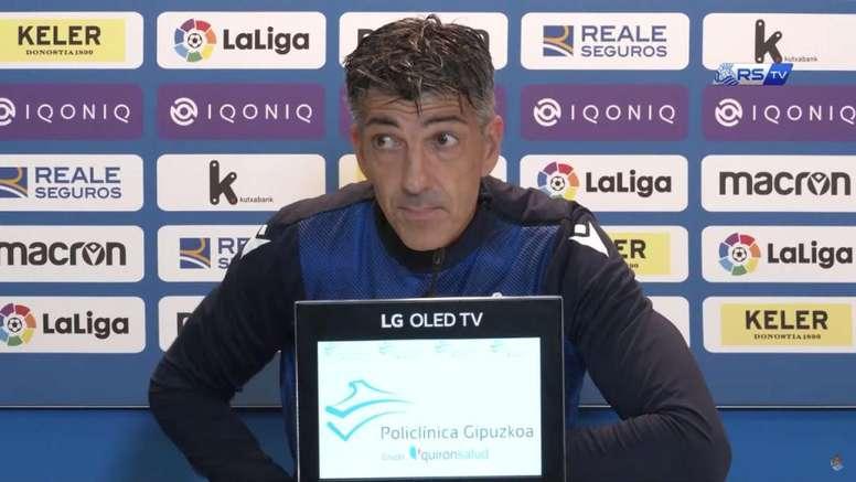 La Real recibe la visita del Valencia. Captura/YouTube/RealSociedadTV