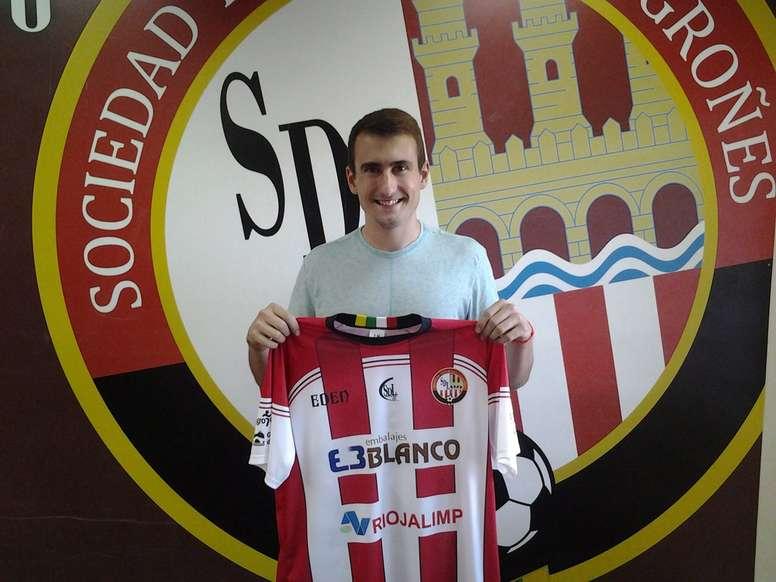 La SD Logroñés llega a un acuerdo con el delantero de 23 años. SDLogroñés