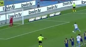Immobile volvió a marcar y le metió presión a CR7 y Lewandowski. Captura/beINSports